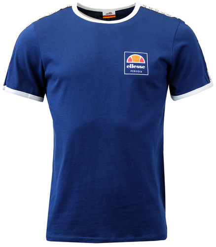 ELLESSE AGOSTI RETRO SEVENTIES TAPED SLEEVES TEE