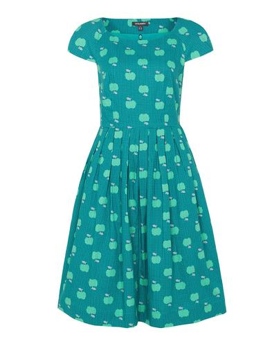 EMILY AND FIN CLAUDIA AN APPLE A DAY PRINT DRESS