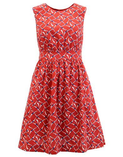 EMILY AND FIN LUCY RETRO VINTAGE SLEEVELESS DRESS