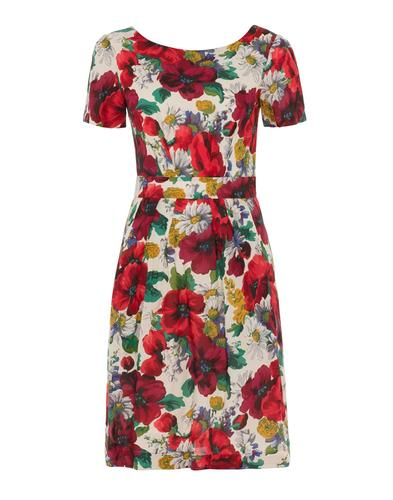 EMILY AND FIN MAGGIE RED BLOSSOMING POPPIES DRESS