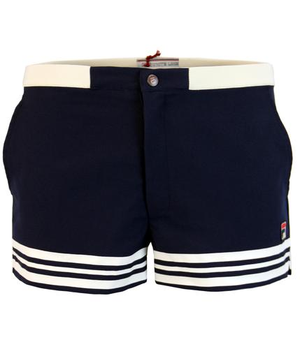 FILA VINTAGE DOCKA RETRO SEVENTIES TENNIS SHORTS