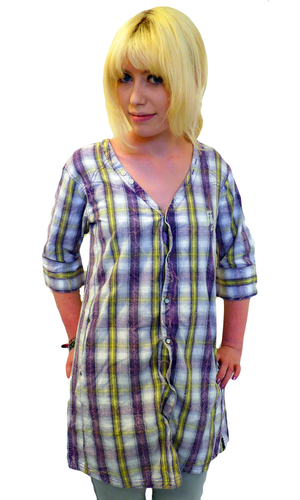 'Hillbilly' - Womens Boyfriend Fit Shirt Dress