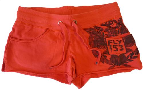 'Rained On' FLY53 Womens Retro Hot Pant Shorts (R)
