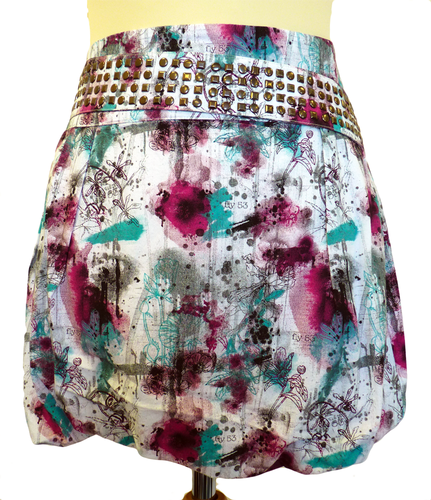 'Stella' - Retro Vintage 70s Mini Skirt by FLY53