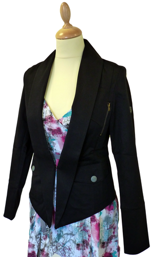 'Upshot' Retro Mod Tailored Womens Jacket by FLY53