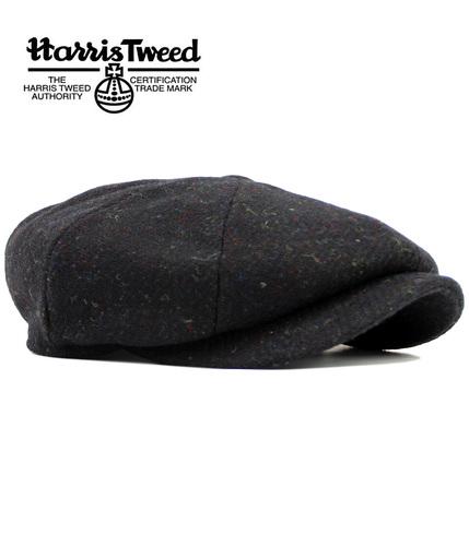 FAILSWORTH CARLOWAY HARRIS TWEED RETRO GATSBY CAP