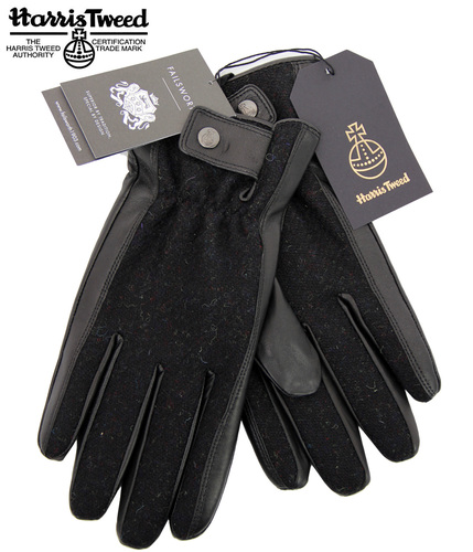 FAILSWORTH RODEL HARRIS TWEED RETRO GLOVES