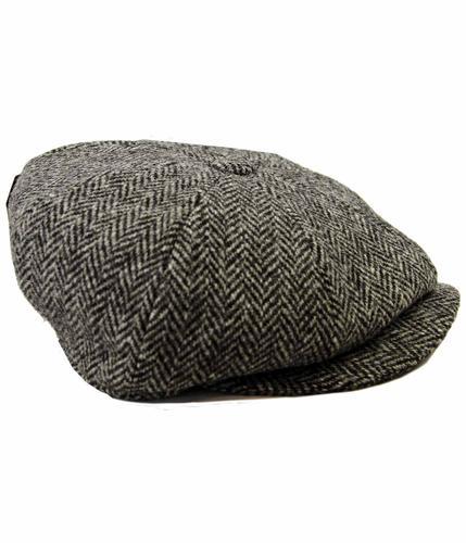 CARLOWAY FAILSWORTH GREY GASTBY CAP