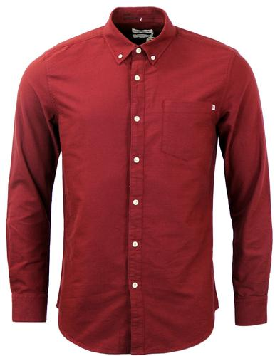 FARAH 1920 CONNOLLY RETRO OXFORD BUTTON DOWN SHIR