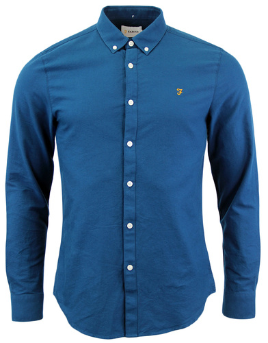 FARAH BREWER RETRO SIXTIES MOD MENS OXFORD SHIRT