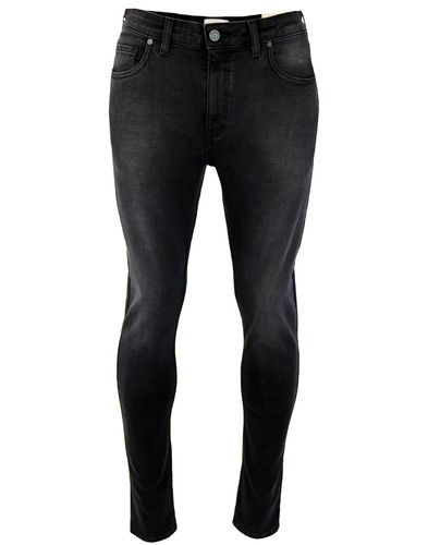 farah drake stretch slim jeans charcoal