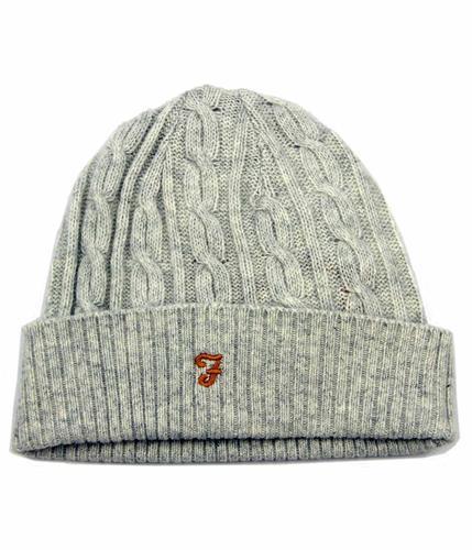 Kirtley FARAH VINTAGE Retro 70s Cable Knit Hat