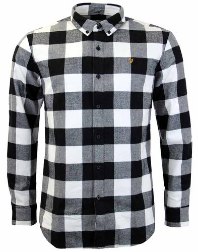 FARAH 1920 IRTHING RETRO CHECK SHIRT