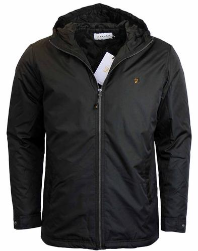 FARAH RYDAL RETRO MOD JACKET BLACK