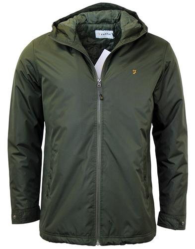 FARAH RYDAL PADDED RETRO JACKET EVERGREEN