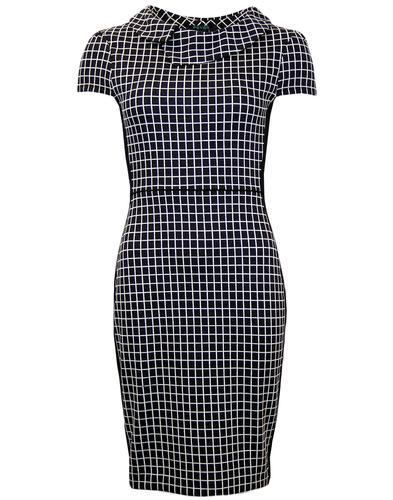 FEVER AKIRA RETRO GEOMETRIC SQUARE PENCIL DRESS