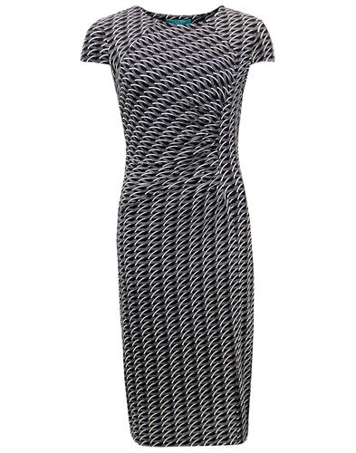 FEVER ANDO RETRO SIXTIES RUCHED PENCIL DRESS