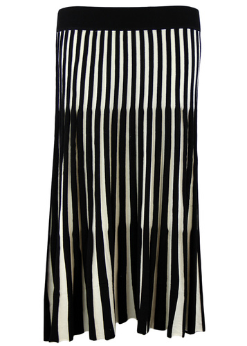 FEVER LEWES RETRO VINTAGE STRIPE SKIRT