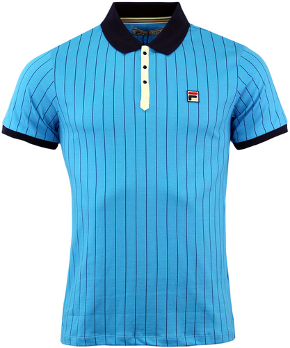 FILA VINTAGE BB1 BORG POLO RETRO 70S POLO TOP