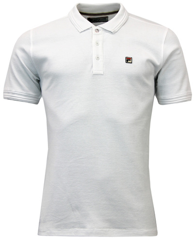 FILA VINTAGE CRANZE 2 RETRO 1970S MENS PIQUE POLO
