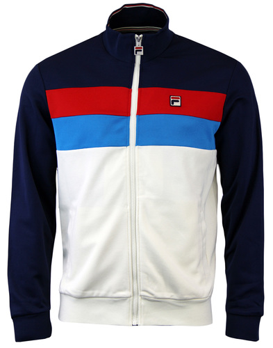 FILA VINTAGE LIZZANO RETRO 80S PANEL TRACK TOP