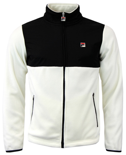 FILA VINTAGE MERAN RETRO MICRO FLEECE TRACK TOP