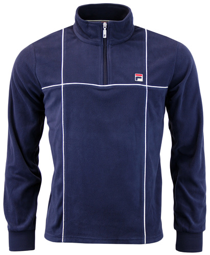 FILA VINTAGE SOLDA 70S MICRO FLEECE HALF ZIP TOP