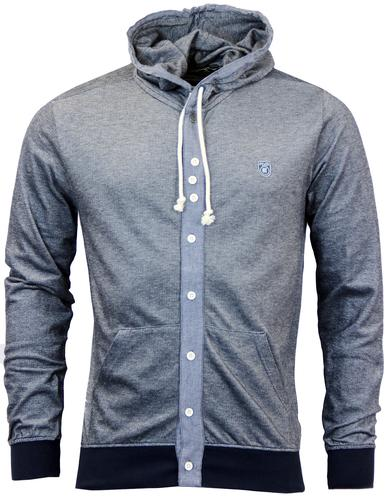 FLY53 NEW JACK RETRO INDIE HOODED SHIRT