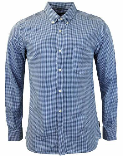 FRENCH CONNECTION RETRO MOD GINGHAM SHIRT
