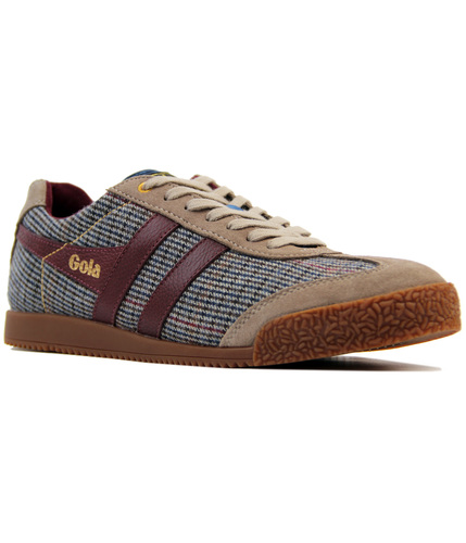 GOLA HARRIER RETRO SAVILE ROW DOGTOOTH TRAINERS