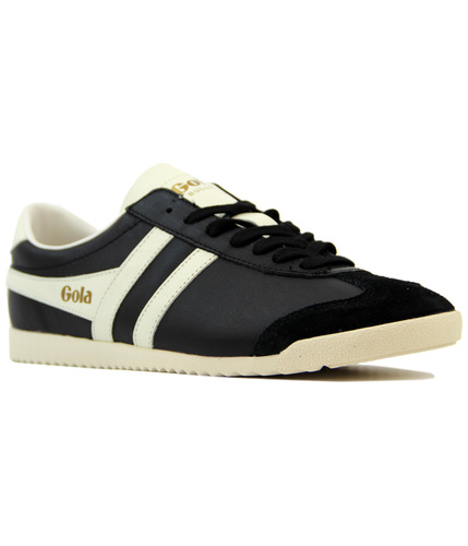 GOLA BULLET RETRO INDIE 70S LEATHER TRAINERS