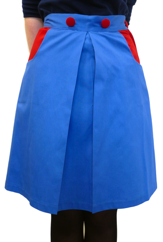 GONSALVES AND HALL RETRO SIXTIES MOD VINTAGE SKIRT