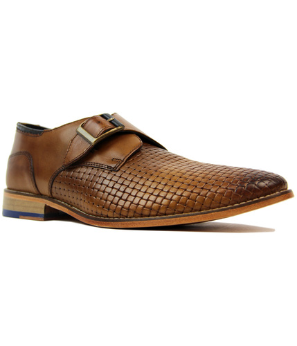 Helmshore GOODWIN SMITH Retro Mod Monk Strap Shoes