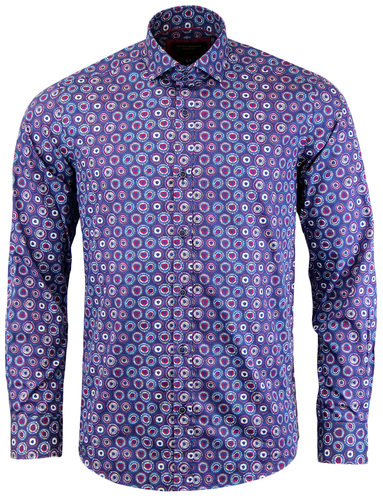 GUIDE LONDON RETRO SIXTIES PSYCHEDELIC SHIRT
