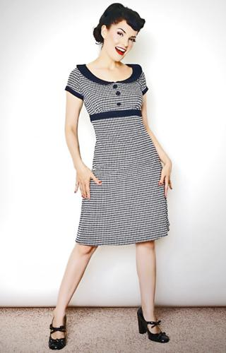 HEARTBREAKER RETRO MOD DOLLY DRESS SIXTIES DRESS