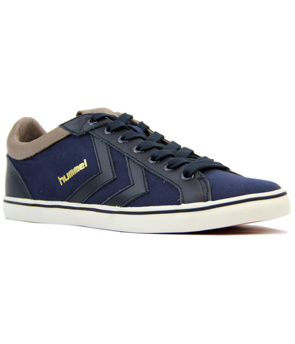 HUMMEL DEUCE COURT PREMIUM RETRO TENNIS TRAINERS
