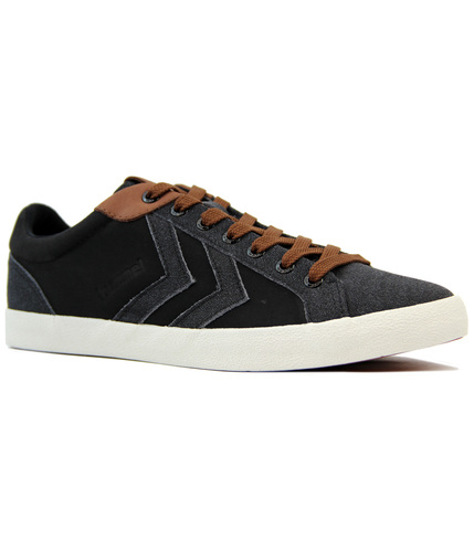 HUMMEL DEUCE COURT WINTER RETRO 70S TRAINERS