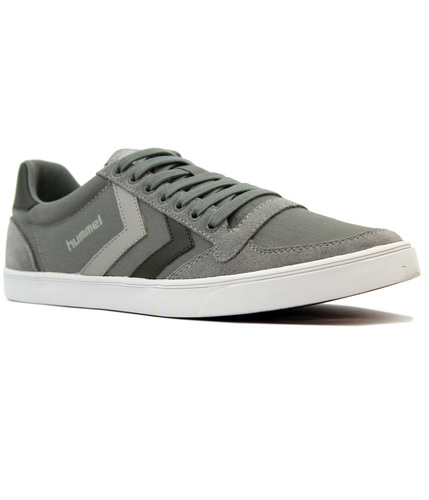 HUMMEL SLIMMER STADIL DUO RETRO CANVAS TRAINERS
