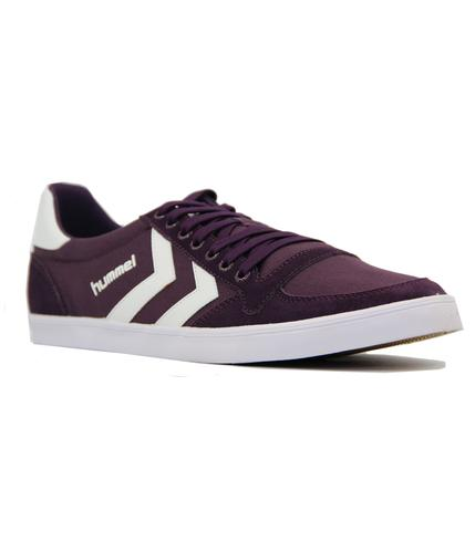 HUMMEL Slimmer Stadil Low Canvas Retro Trainers P