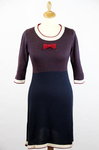 MERC RETRO MOD 60S KNITTED DRESS TAMELLA