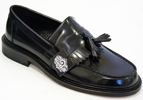 IKON ORIGINAL SELECTA TASSLE LOAFERS SHOES MOD 60s