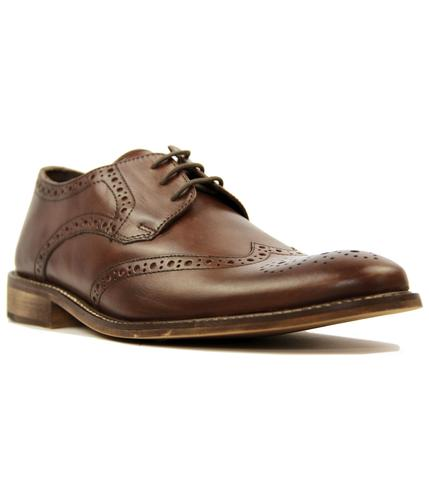 IKON PACE BROWN FLORID RETRO MOD SHOES