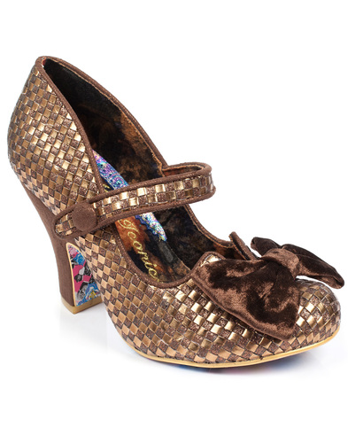 IRREGULAR CHOICE FANCY THIS RETRO VINTAGE HEELS