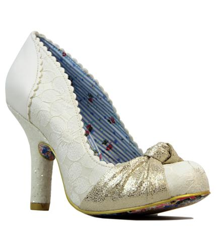 IRREGULAR CHOICE SMARTIE PANTS VINTAGE RETRO HEELS