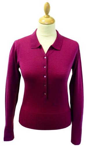Halley JOHN SMEDLEY Retro Sixties Mod Polo Shirt R