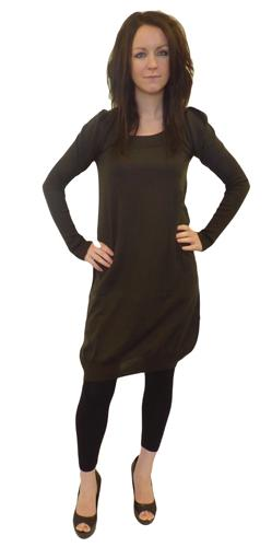 Hilda JOHN SMEDLEY Extreme Sleeve Retro Dress