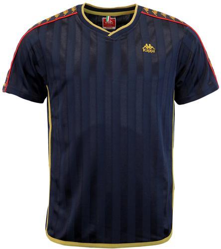 Ewood KAPPA Retro Seventies Taped Sleeves T-Shirt