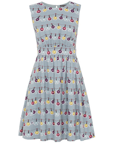 Emily and Fin Retro Lucy Christmas Lights Dress