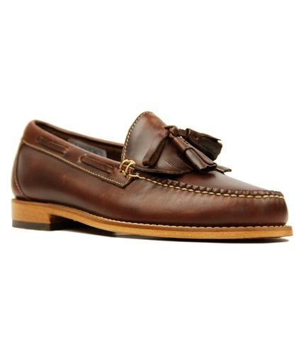 LAYTON PULL UP TASSEL FRINGE RETRO LOAFERS
