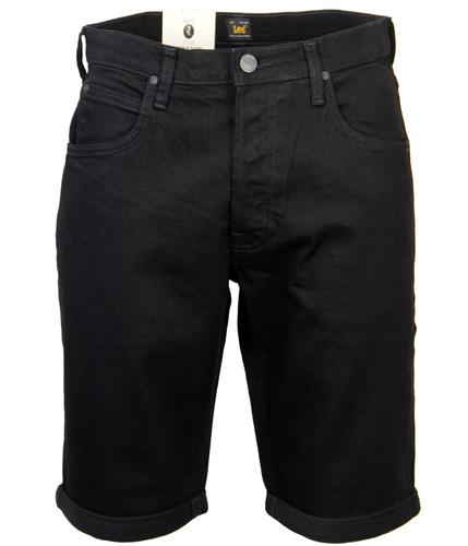 LEE RETRO INDIE MOD 5 POCKET DENIM SHORTS BLACK